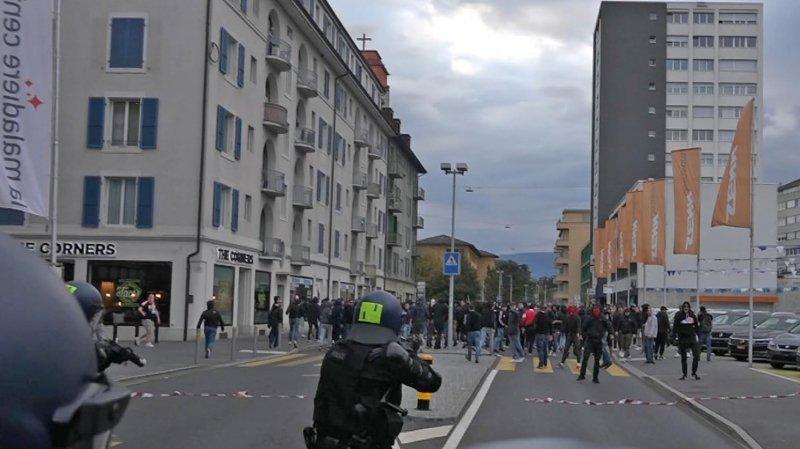 Une cinquantaine de supporters du FC Sion condamnés après un match contre Neuchâtel Xamax