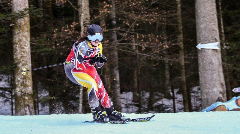 Course de ski, Chasseron-Buttes.