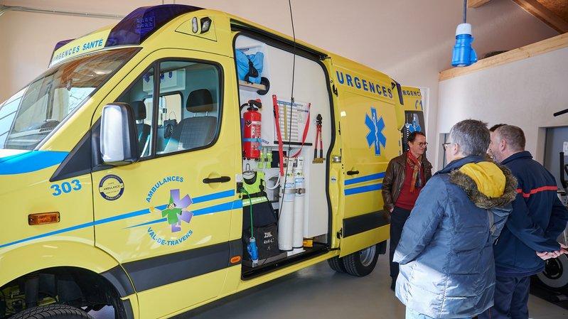 Une ambulance toute nouvelle pour le Val-de-Travers.