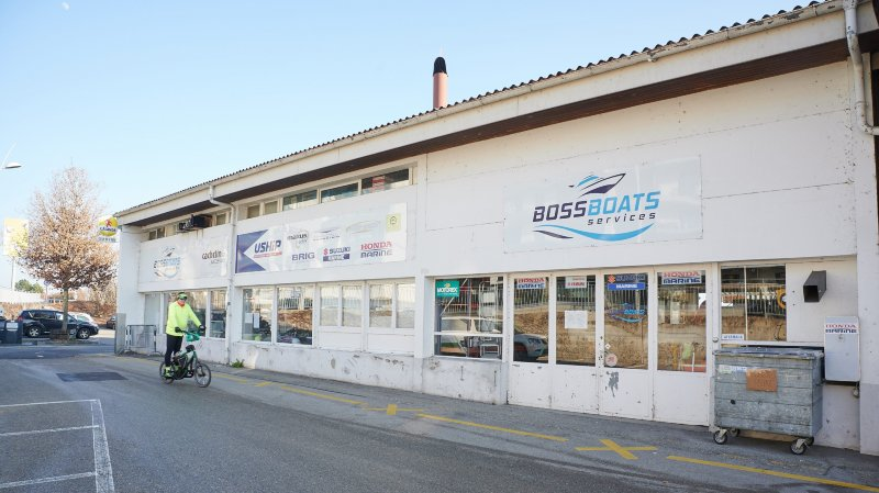Le magasin nautique Boss Boats services, à Neuchâtel, liquidé par l'office des faillites