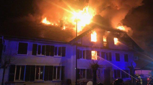 Le bistrot de Lajoux a brûlé dans la nuit de ce mardi à mercredi.