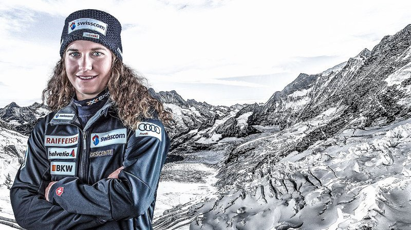 Magnifique performance de la jeune skieuse valaisanne de 20 ans.