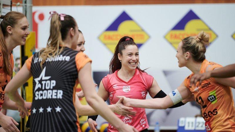 Tabea Dalliard (en rose) et Cie sont en finale de la Coupe.