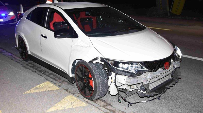 Il prend la fuite devant la police et provoque un autre accident