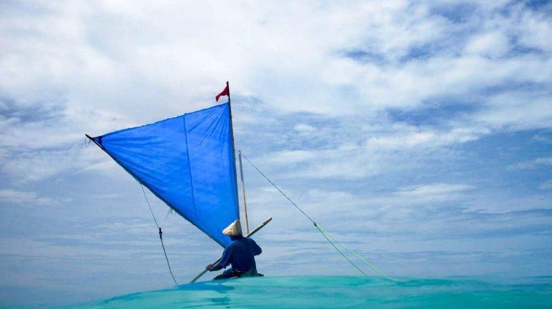 """Une image du filme """"Anote's Ark"""", qui montre que le réchauffement climatique a déjà des répercussions dramatiques dans certaines régions du monde."""