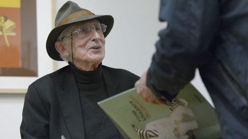 Le grand dessinateur, illustrateur de livres et sculpteur d'origine alsacienne Tomi Ungerer est décédé dans la nuit du 8 au 9 février.