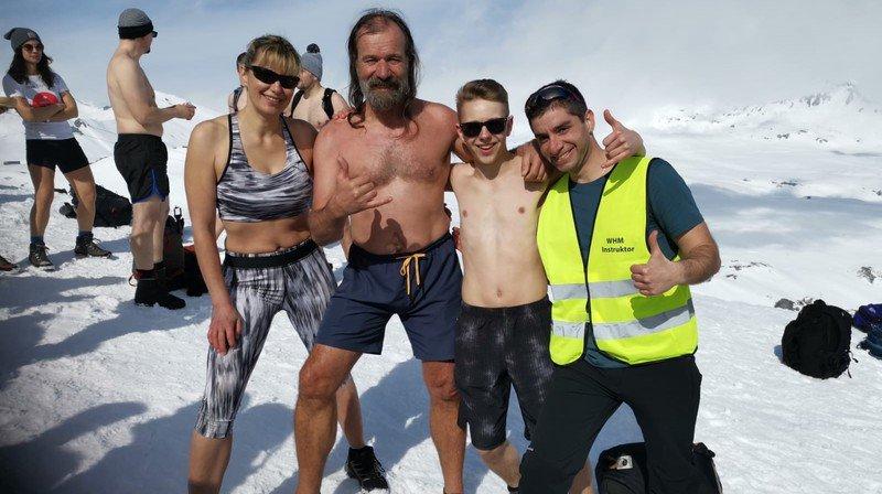 Swiss Ice Challenge: les Neuchâtelois ont bravé le froid à Laax