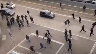 Football – Europa League: des affrontements de hooligans se sont déroulés avant le match Zurich-Naples
