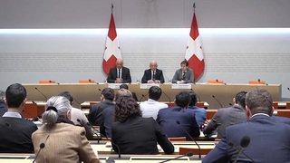 """Votation fiscalité-AVS: Alain Berset défend """"un bon projet"""""""