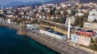 Deux ans de travaux commencent à la station de pompage de Champ-Bougin à Neuchâtel