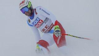"""Ski alpin: les """"vieux os"""" de Beat Feuz ont besoin de repos, il n'ira pas en Bulgarie"""