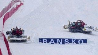 Ski alpin: le Super-G hommes de Bansko annulé à cause des chutes de neige