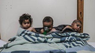 Plus d'enfants victimes que  de combattants