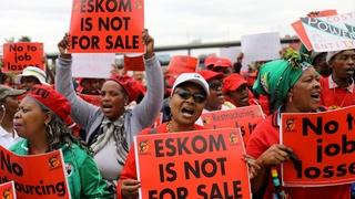 L'Afrique du Sud manque de jus