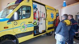 Nouvelle ambulance et certification renouvelée à Val-de-Travers