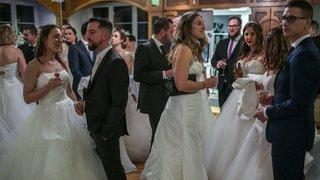 Saint-Valentin: une quarantaine de couples se sont redit «oui» à l'hôtel Pont de Thielle