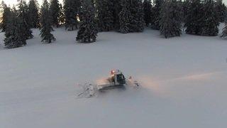 Tête-de-Ran et le Saut du Doubs vus de drone