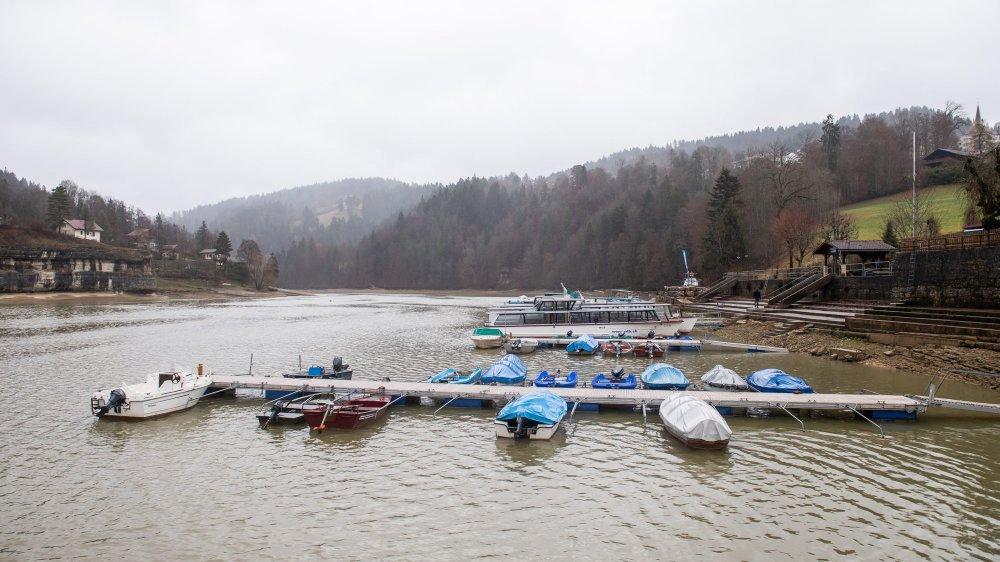 L'eau est revenue en catimini aux Brenets, dans la nuit du 2 au 3 décembre.