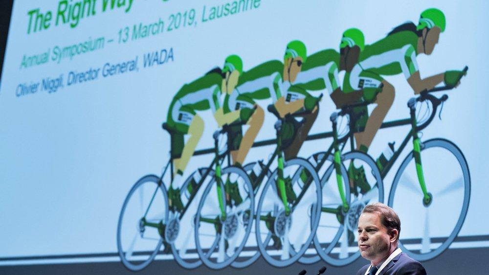 Olivier Niggli, directeur général de l'AMA, et la lutte antidopage ont besoin des athlètes pour mieux combattre le dopage.