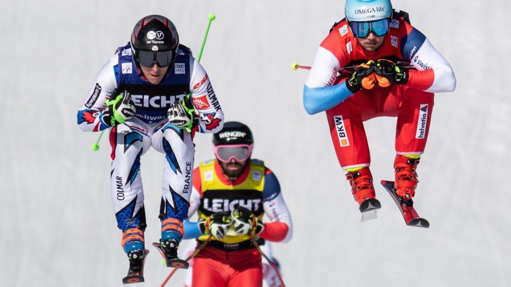 Romain Détraz (à droite) est monté sur deux podiums en ce début d'année.