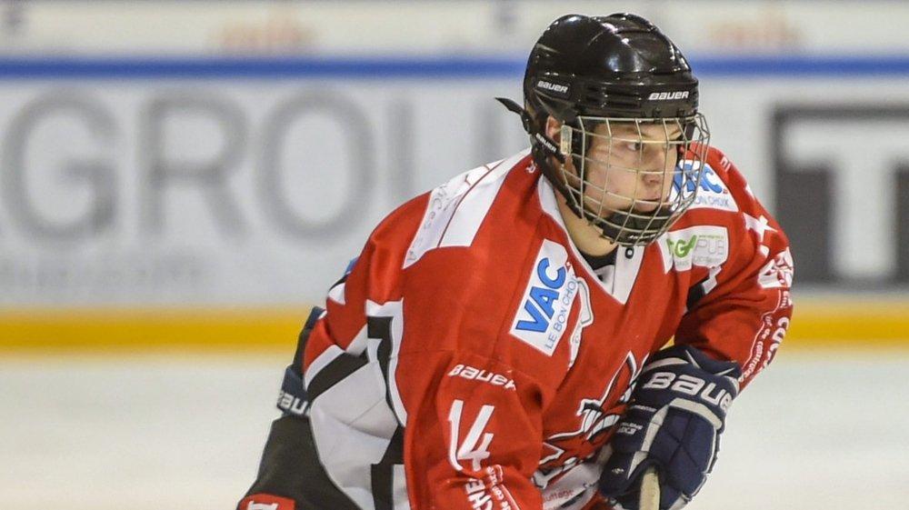 Esteban Willemin réalise une belle saison avec Star Chaux-de-Fonds.