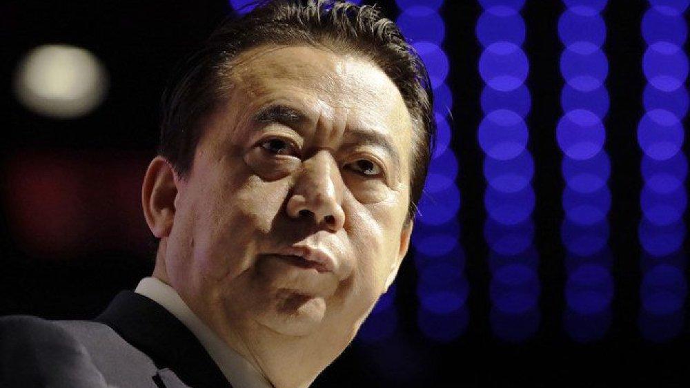 Meng Hongwei, l'ex-président chinois d'Interpol.