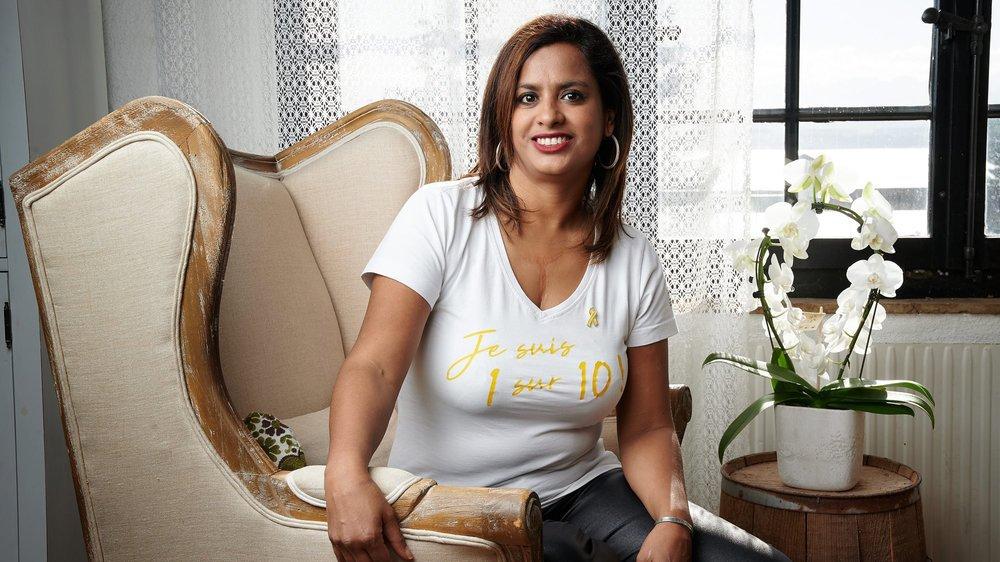 Saroj Gagnebin Bourquin est co-responsable de l'antenne neuchâteloise de S-endo, une association qui vient en aide aux femmes atteintes d'endométriose.