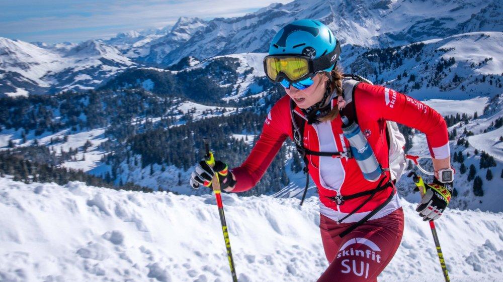 Malgré un temps splendide, Marianne Fatton n'a pas pu ramener une médaille au camp suisse.