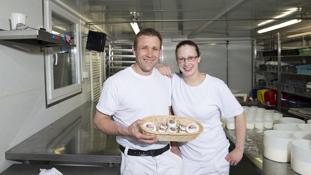 Robert et Sonia Steffen présentent le fruit de leur travail.