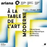 À la table de l'art moderne