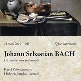 Johann Sebastian BACH, Un anniversaire impromptu