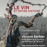 Le vin et notre histoire