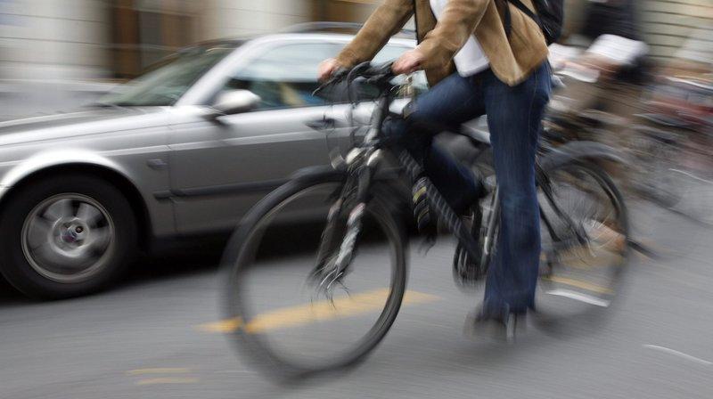 En Suisse, 7% des déplacements se font à vélo, contre 28% aux Pays-Bas.