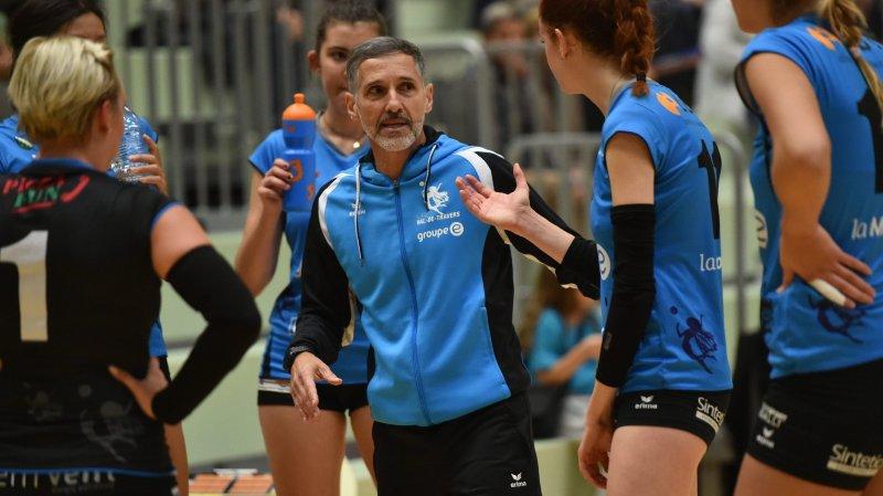 Luiz Souza et le VBC Val-de-Travers devraient évoluer en LNA dames la saison prochaine.