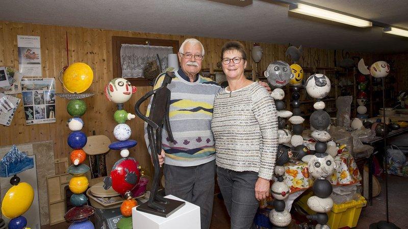 Les époux Jenny, organisateurs et fondateurs de Cré'Art, n'ont pas trouvé de successeurs.