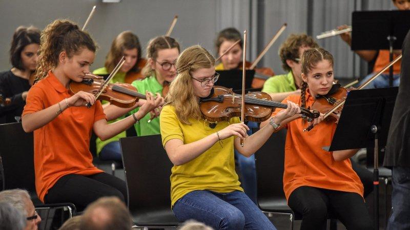 Concert de l'Orchestre des jeunes du Conservatoire neuchatelois