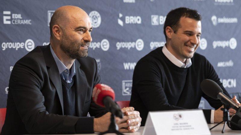 Joël Magnin (à gauche) et Frédéric Page, les deux hommes forts du futur Xamax.