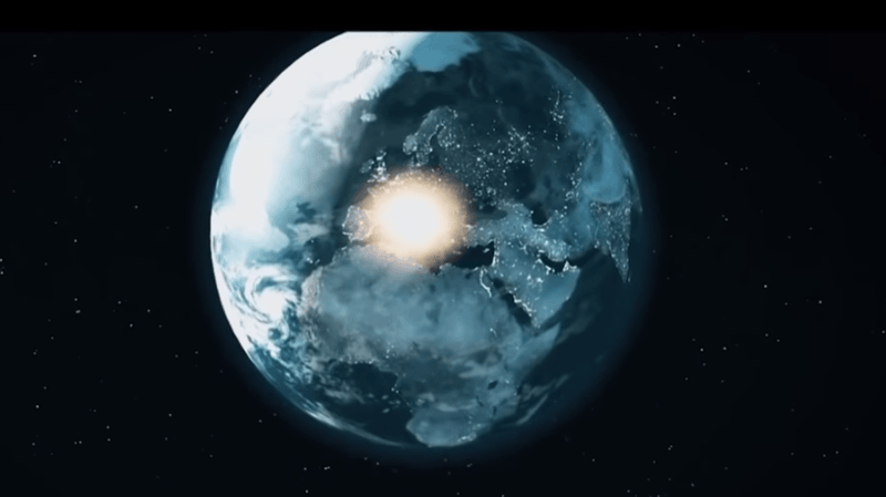 Cette explosion est la deuxième la plus importante de ces trente dernières années. (illustration)