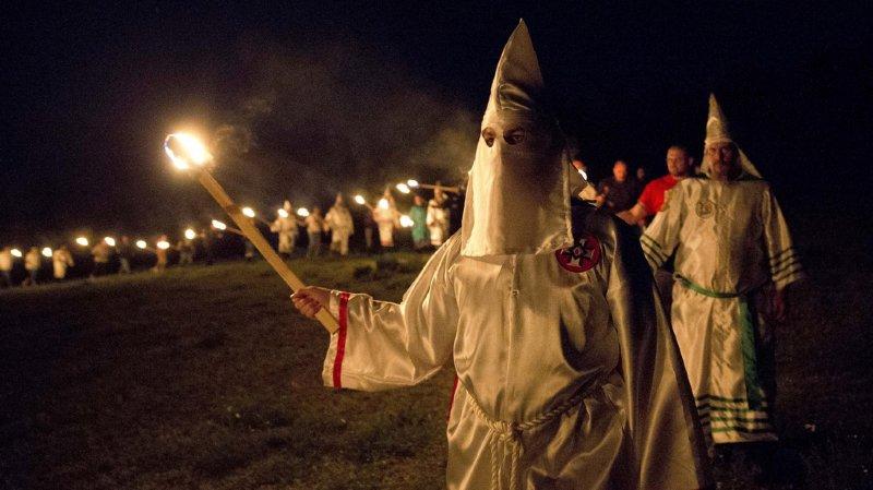 Le Ku Klux Klan a été fondé en 1865 dans le Tennessee, aux Etats-Unis, au moment de l'abolition de l'esclavage. (illustration)