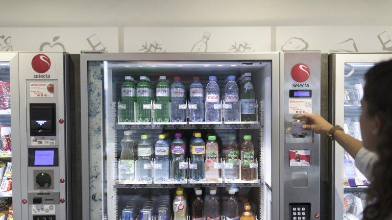 Alimentation: il n'y aura plus de Coca-Cola dans les distributeurs Selecta