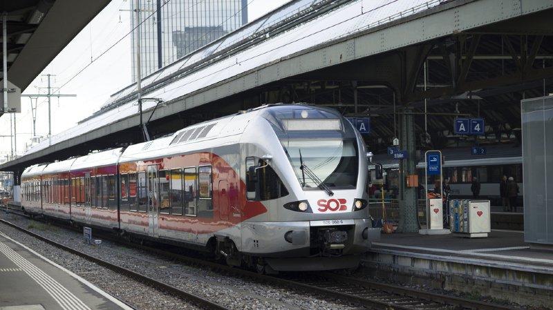 Trafic ferroviaire: du matériel roulant standard pour les trains régionaux permet des économies
