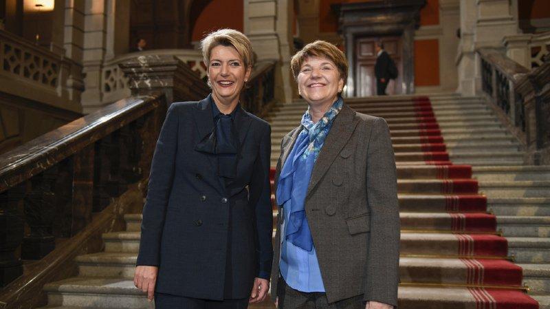 Suisse: une trentaine de femmes reçues au Palais fédéral