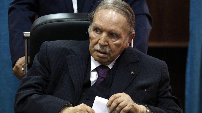Moribond, Bouteflika est
