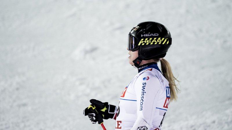 Ski alpin: pas de finales à Soldeu pour Lara Gut-Behrami qui s'est blessée à l'entraînement