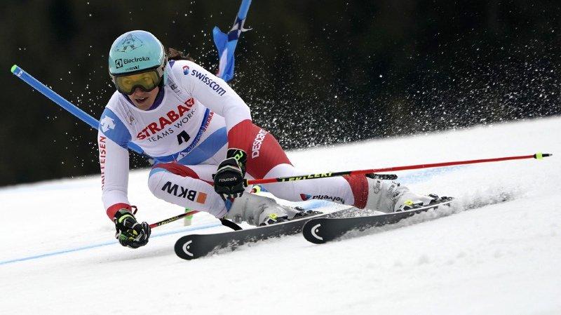 Ski alpin: les Suissesses larguées en 1re manche du géant à Spindleruv Mlyn
