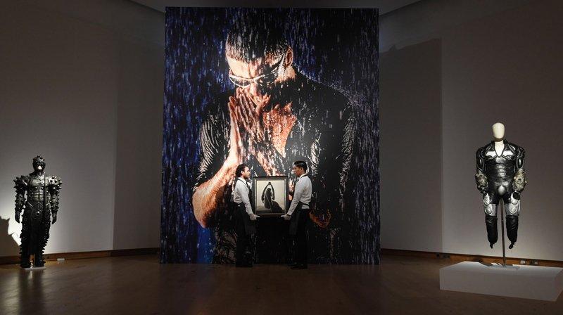 Au total, 75 œuvres ont été proposées à la vente par la maison d'enchères Christie's.