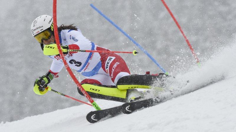 Ski alpin: Wendy Holdener termine 2e du slalom de Spindleruv Mlyn en République tchèque
