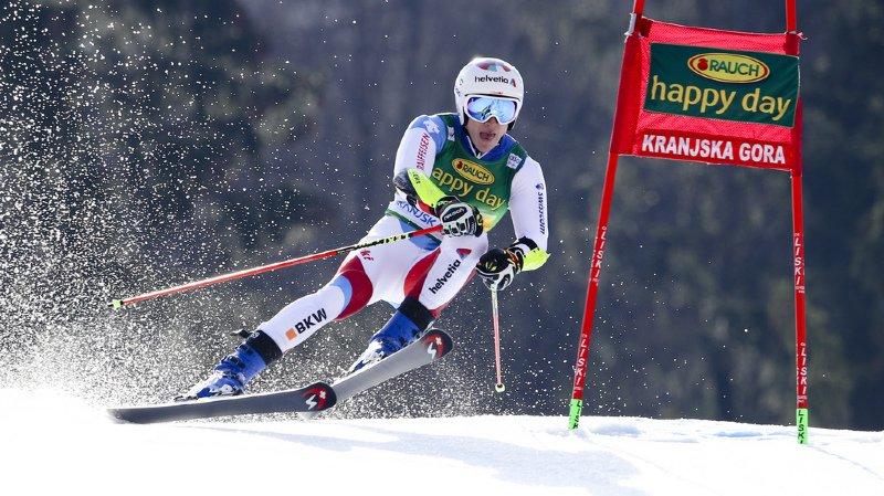 Ski alpin: Marco Odermatt termine 3e du géant de Kranjska Gora en Slovénie