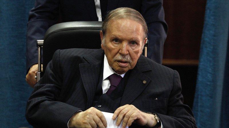 """M. Bouteflika est hospitalisé aux HUG depuis le 24 février, pour des """"examens médicaux"""" selon la présidence algérienne."""