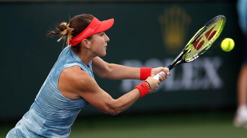 Tennis - Indian Wells: Bencic se hisse au 3e tour et s'offre un 9e succès d'affilée